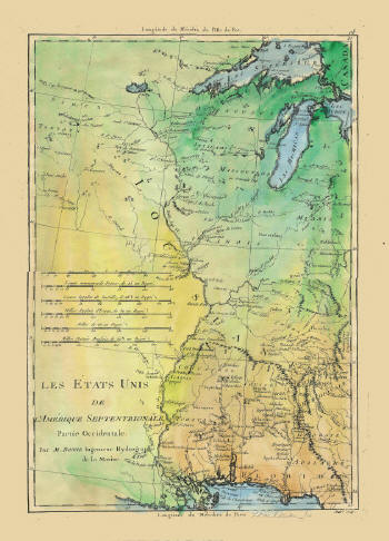 Oldmapjpg - Map of the us mississippi river